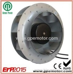 Electronic EC Radial Centrifugal Fan for solar ventilation
