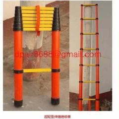 Easy handing fiberglass foldable ladder