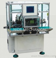 AUTO LAODING AND UNLOADING FIXTURE TWO POLES STATOR WINDING MACHINE