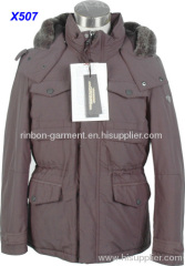 2013 NEW FASHION NEW STYLE MEN'S WINTER LONG JACKET