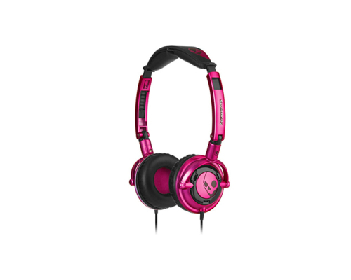 Skullcandy lowrider pink with black