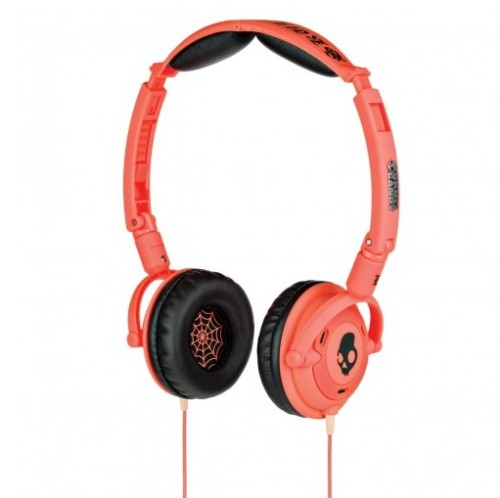 Skullcandy lowrider red headphone