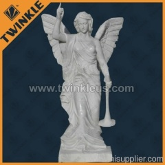 Carved Angel Stone Sculpture