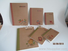 craft paper note book