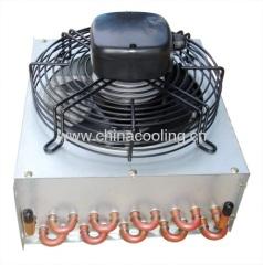 aletas del condensador fin condenser