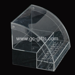 Acrylic display showcases with lid