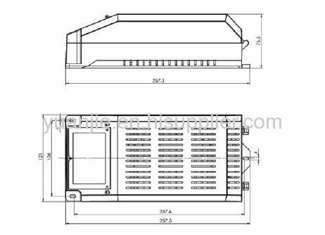 35w/ 70w/150w/250w plastic ballast box hid