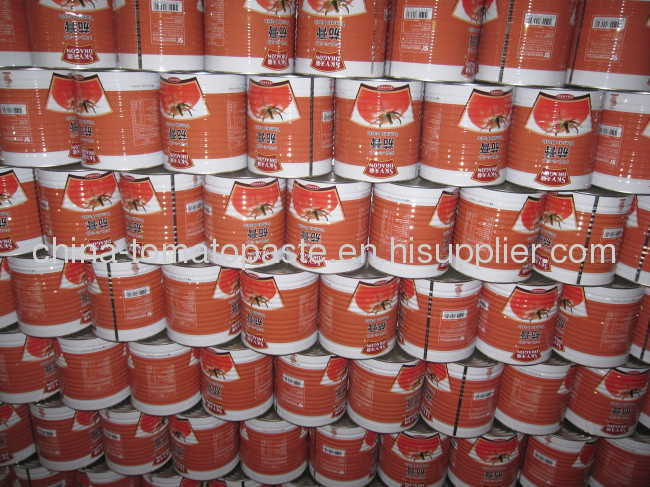 100% purecanned tomato paste from factory supplier