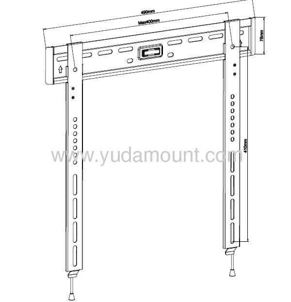 TV brackets for monitors for 15-42monitor