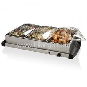 Triple buffet server wamer 4.5L