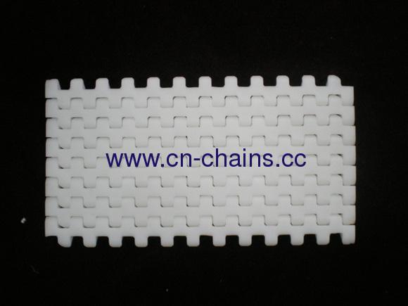 Flat top modular conveyor belt (M1220)