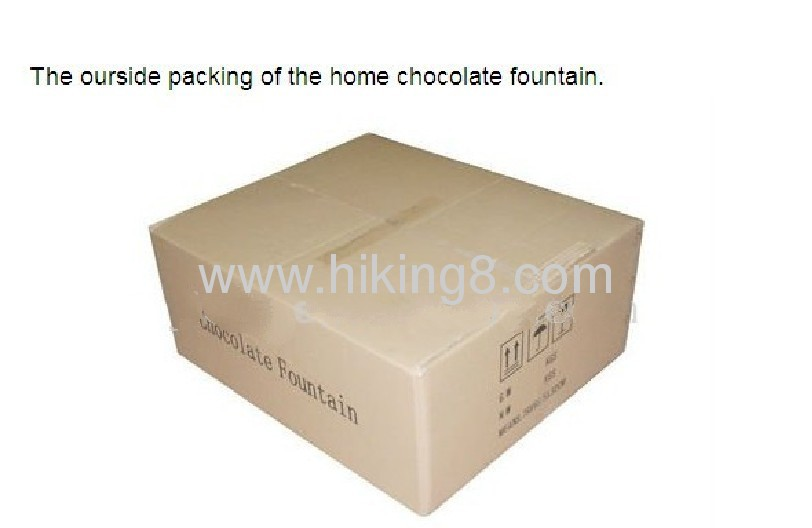 Mini home chocolate fountains with CE RoHs