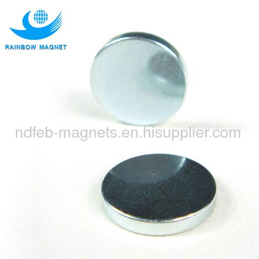 Neodymium Iron Boron round magnet for hook