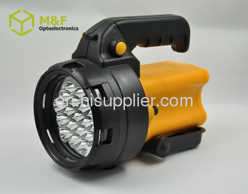 rechargeable battery 19leds handheld rechargeable led spotlight