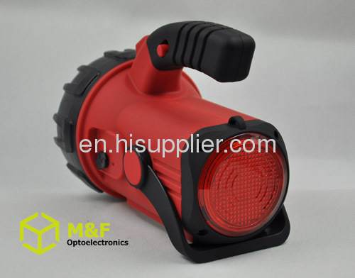 Multifunctional rechargeable led spotlight work light