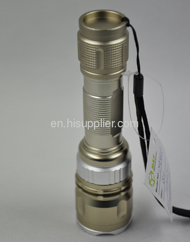 emergency rechargeable high power CREE Q5 multifunction led flashlight torch
