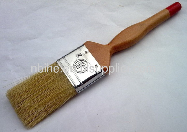 High quality Pure bristle and wooden handle paint brush