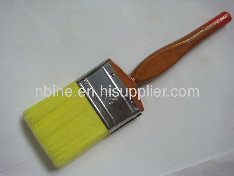 white and red ,yellow,green filament flat style paint brush