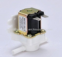 12V24V normally open/closed Plastic water solenoid valve,quick connect valve.