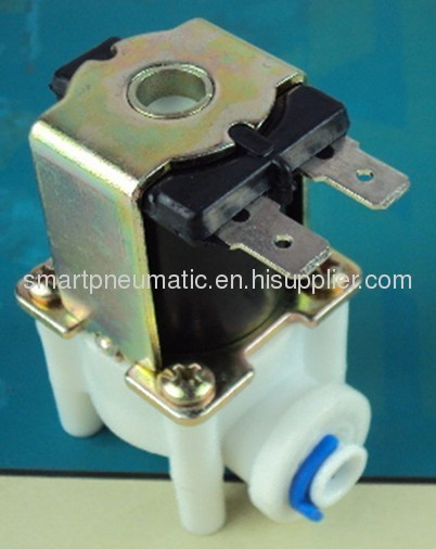 plastic water vave,normally open or normally closed valve,12V and 24V