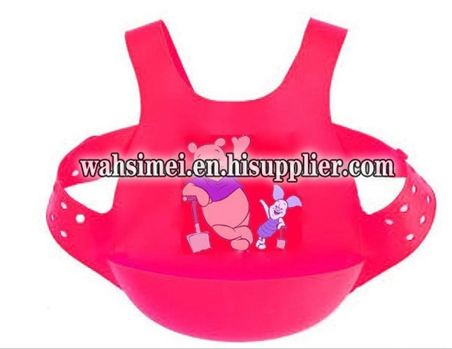 The newest design silicone baby bibs for 6 month to 3 years old baby