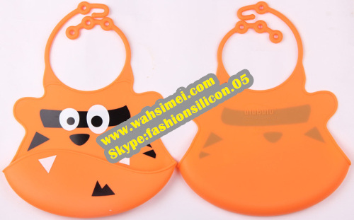 Silicon kids bibs with over 20 styles