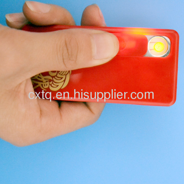 USB electronic cigarette lighter with LED