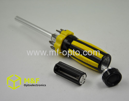 Ningbo 9 LED Multi function magnetic screwdriver with light