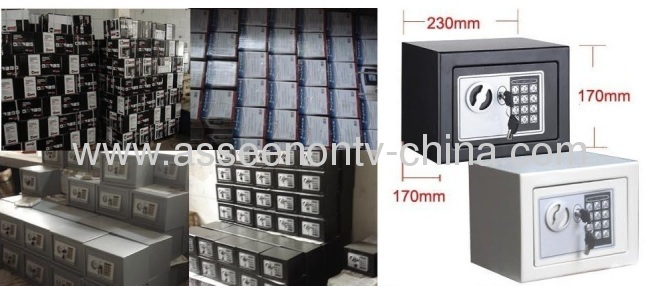 home furnishing home safe,vaults,strong box and cash storage electronic safety box,home safe box