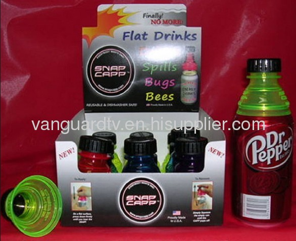 Snap Capp Bottle Tops for Cans-Easy Drink as seen on tv / Interesting Drinking with Snap Capp