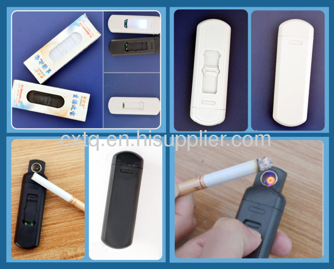 Slim plastic USB electronic lighter for Father