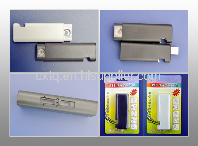 Slim classic usb electronic lighter with beer bottle opener