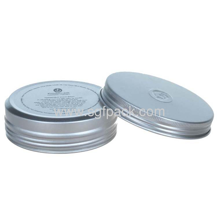 60ml Jewelry box casket ring box Watch box Candy jar Aluminum jar