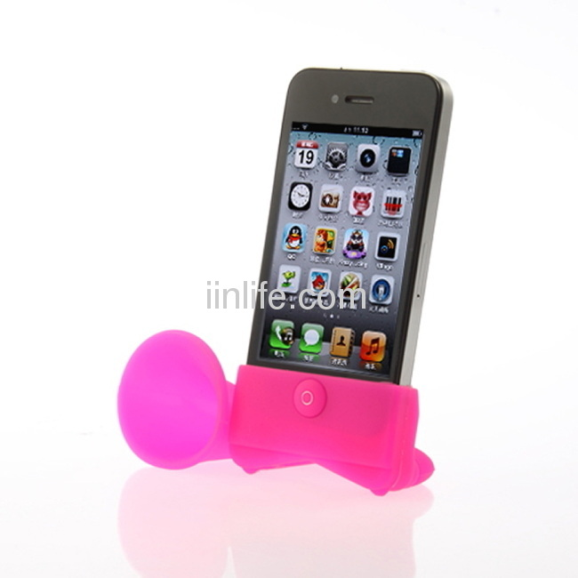 High quality silicone speaker for iphone China manufacture