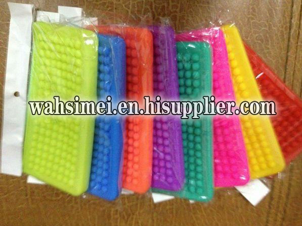 2103 stylish silicone women hand wallet