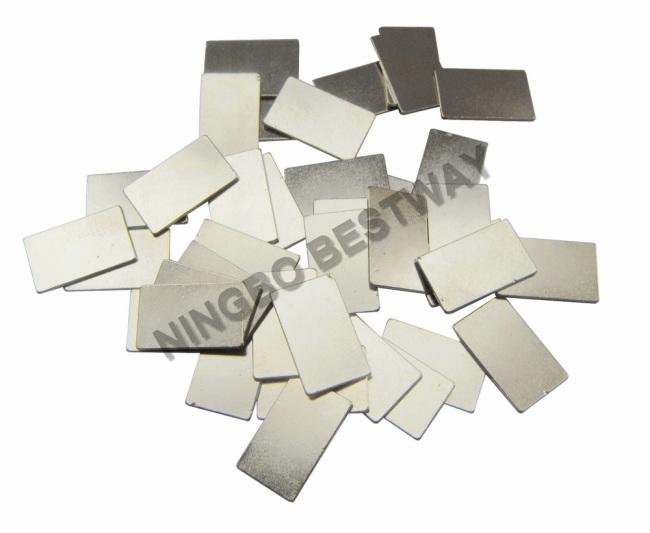 N35 Ni L14mm*W8.5mm*H0.7mm Thickness Block Magnet