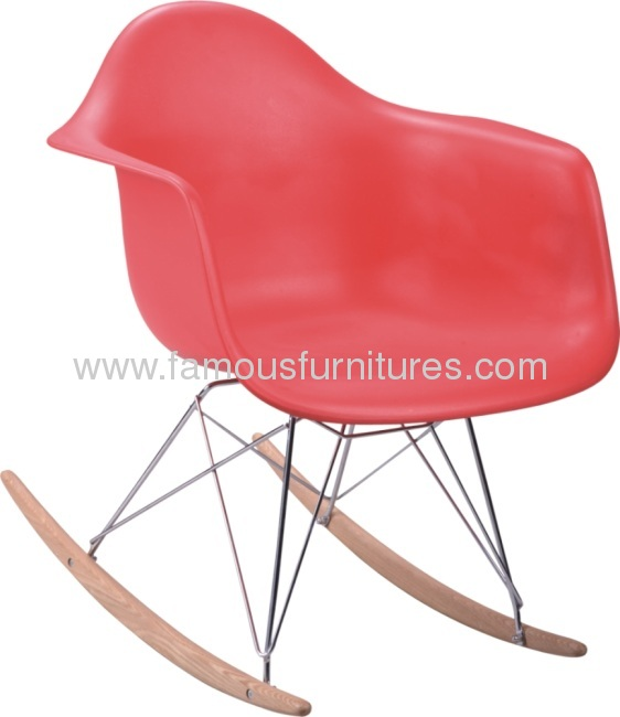 PP seat Steel Base Eames DAR Chair Eames armchair-4 leg base