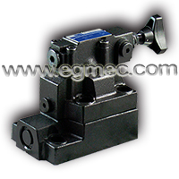 Rexroth DB20 Manifold Installation Pilot Operated Pressure Relief Valve