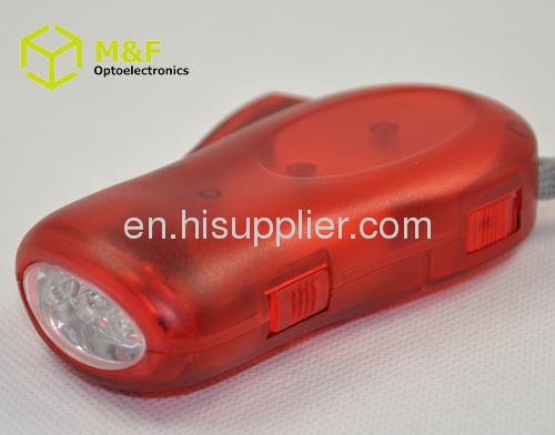 hand crankdynamo flashlight
