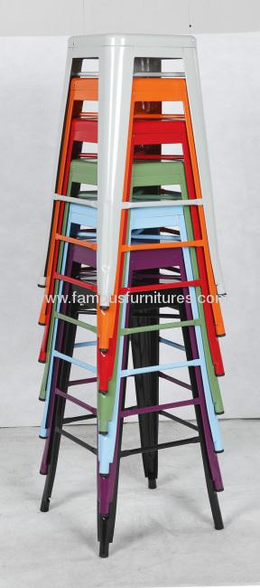 45cm Tolix/Xavier Pauchard Metal stools