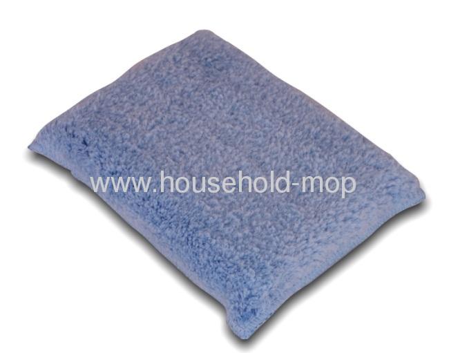 14cm x 9.5cm Microfiber Scrubbing Sponge