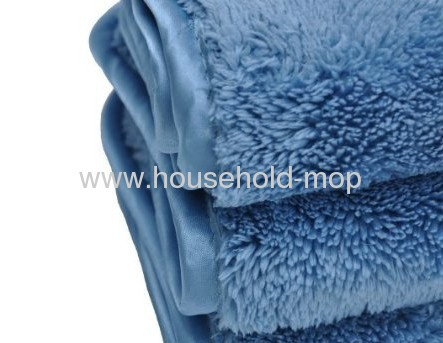 Microfiber Double Density Towels 12 X 16 in 660 GSM Eurow Shag 10-Pack