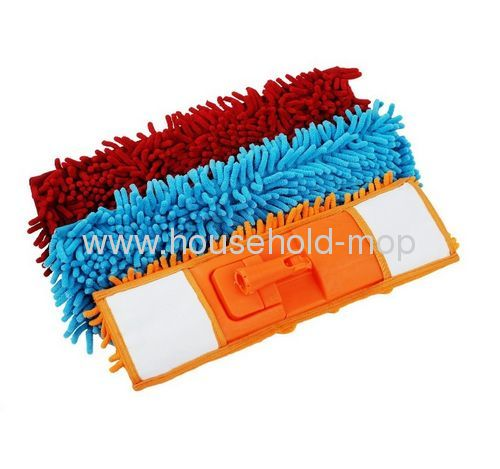 Chenille mop with steel pole can extention to 120cm