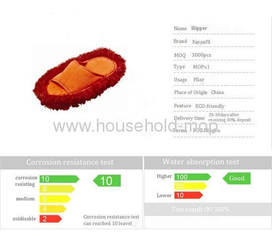 Soft orange Plush Slippers