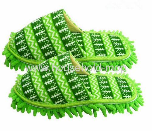 Super Soft Floor Cleaning Chenille Microfiber bedroom slippers