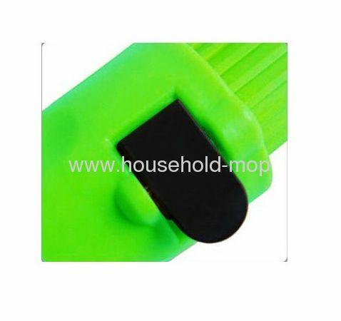 Commercial Self-Wringing Ratchet Microfiber Twist Mop Blended Yarn Head 54 Handle
