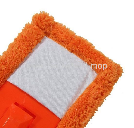 Orange 24Commercial Microfiber Flat Floor Mop