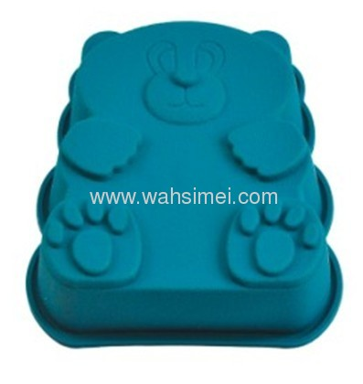 Cute silicon cake bakeware in top FDA, SGS quality