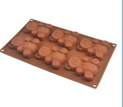 Lovely silicon kitchen bakeware Chocolate mould