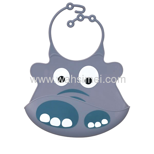 A large of newest waterproof silicone baby bibs for wholesale